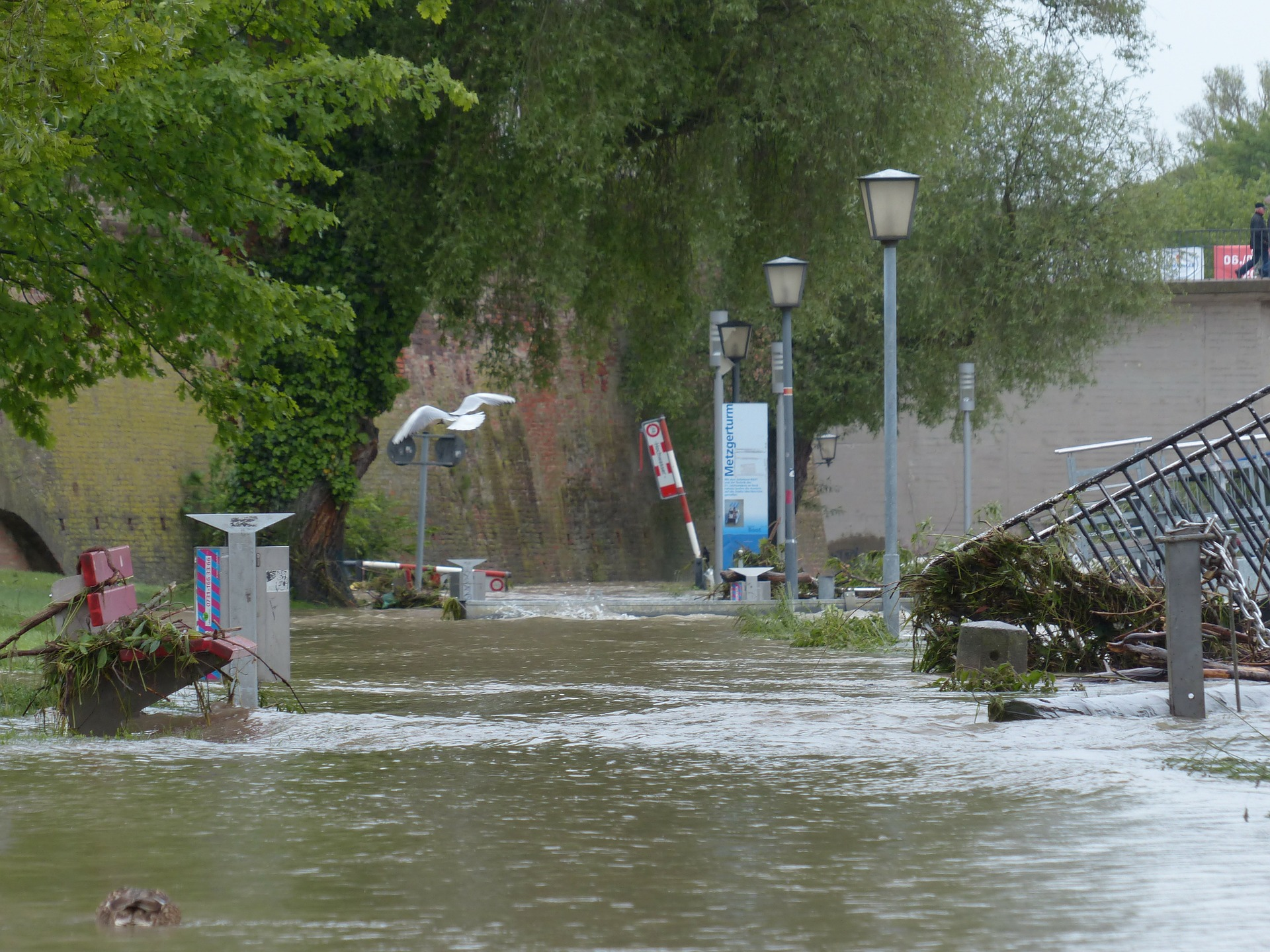 Welsh Government Announces Emergency Funding for Flooded Businesses