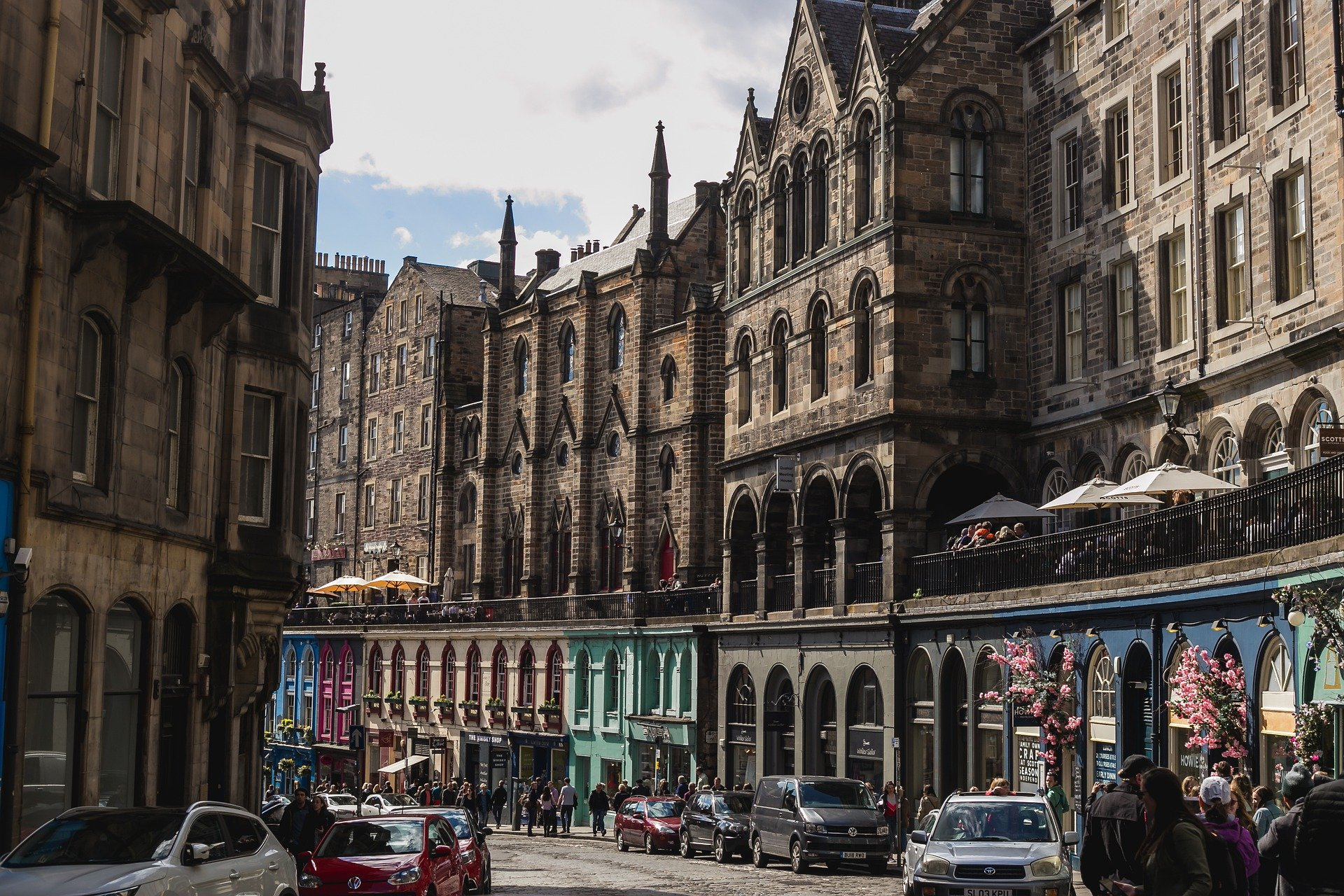 Funding to Promote Town Centres and Local Businesses in Scotland