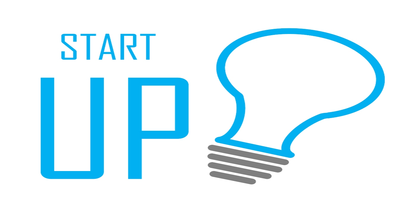 drawing of light bulb with start up wording